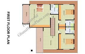 6 bedroom house plan in ghana