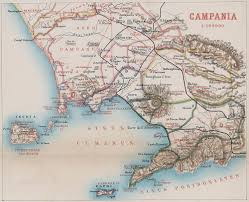 Naples Italy Map Maps Bay Of Naples