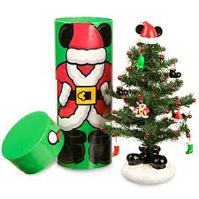 miniature christmas trees christmas tree miniature santa mickey mouse tree with mailer