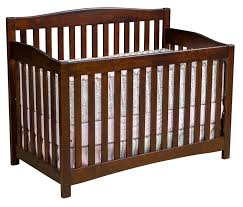 Convertible Crib To Twin Bed by Monterey Convertible Baby Crib From Dutchcrafters Amish Furniture