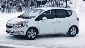opel meriva 2014 opel meriva spied getting ready for minor facelift