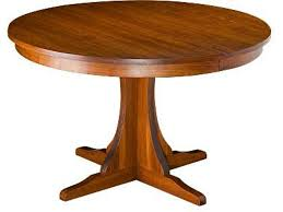 gat creek dining room mission round extension table 71970