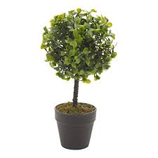 Desk Plant Artificial Office Desk Plant 22 Cm Black Or White Plant Pot Home