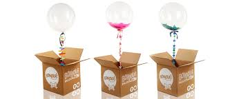 send a balloon in a box bonjour balloons inspired by