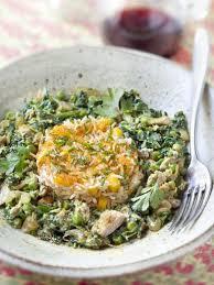 cuisiner du thon recette de thon petits pois et épinards en curry fish and sea