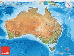 australia satellite map satellite 3d map of australia political outside