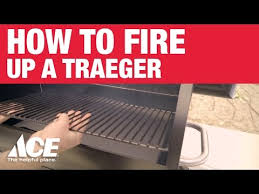 Ace Hardware Fire Pit by How To Fire Up Your Traeger Ace Hardware Youtube
