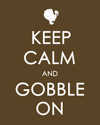 happy thanksgiving printable keep calm and gobble on