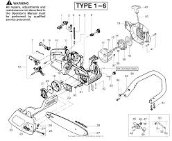 poulan 2150 pr gas chain saw parts diagrams