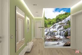 mural mountain waterfall wallpapers mural mountain waterfall