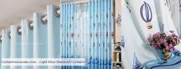 light blue curtains blackout light blue blackout curtains