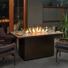 Fire Pit Crystals - outdoor great room uptown fire pit table sutter home u0026 hearth