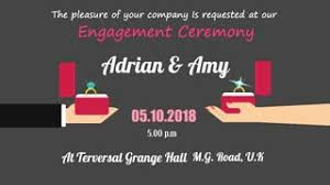 engagement ceremony invitation animated engagement invitation ring ceremony e card