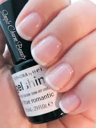 sephora by opi gel french manicure kit a true romantic and white