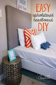 easy diy headboard easy upholstered headboard diy chicaflair