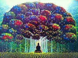 leave your awesome bodhi tree and buddha