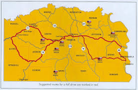 Pennsylvania On Map by Follow The Route For The Annual Covered Bridge Festival Held In