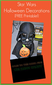 star wars halloween printable decorations