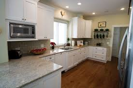 Kitchen Cabinets Without Handles No Door Kitchen Cabinets Fabulous Idea Add Wallpaper To Cabinet