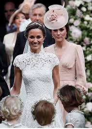 pippa middleton arrives for her wedding to james matthews