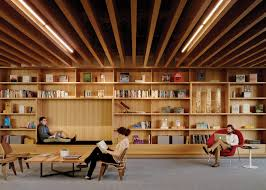 Library Office by Bohlin Cywinski Jackson Designs The Square San Francisco Office