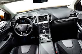 ford bronco 2015 interior 2015 ford edge first look motor trend