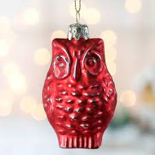 mercury glass owl ornament ornaments