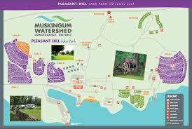 lake pleasant map maps and locations pleasant hill lake park ohio