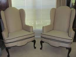 Winged Chairs For Sale Design Ideas 300 Two Ethan Allen Wingback Chairs For Sale In Port Neches