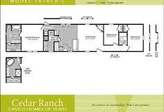 Mobile Home Floor Plans Single Wide Single Wide Mobile Home Interior Design Google Search Half A