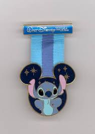 mickey ribbon wdw walt disney world stitch mickey icon hanging ribbon medal for