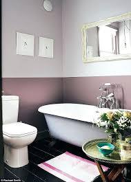 painting bathroom walls ideas two tone wall painting krepim club