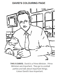 the coalition government colouring and activity book