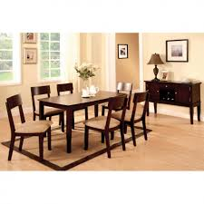 gorgeous dark wood dining table design with magnificent dark