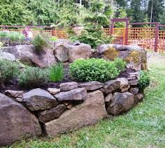 Rock Garden Beds Gardening With Rocks Herbs Garden Herbs And Yards