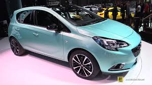 opel paris 2015 opel corsa ecoflex exterior and interior walkaround 2014
