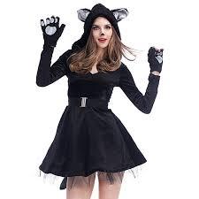 Hooded Halloween Costumes Cheap Catwoman Halloween Costume Aliexpress