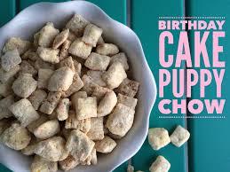 birthday cake puppy chow recipe bunny baubles