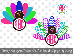 monogramed items monogrammed turkey clipart clipartxtras