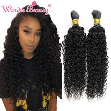 crochet braids with human hair wholesale peruvian hair 4pcs kinky curly human hair for braiding