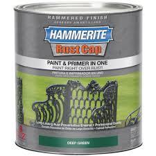 hammerite rust cap paint u0026 primer in one hammered finish walmart com