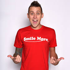 smile more t shirts men u0027s roman youtube and youtubers