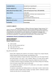 resume format for freshers diploma electrical engineers electrical engineers resumes sle electrical engineer resume