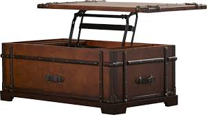 lift top trunk coffee table steamer trunk lift top coffee table best gallery of tables furniture