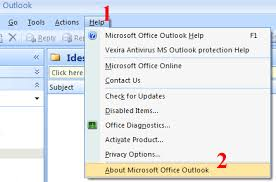 Microsoft Office Outlook Help Desk How To Print A Single Page Of An Email Message In Outlook 2007