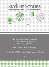 Business Holiday Card Ornaments From Logo Custom Corporate Business 5x7 Holiday Card