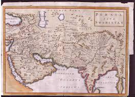 Map Of Western Asia by Osborneshipton1747