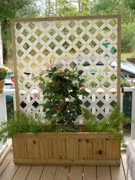 trellis planter box diy easy video instructions planters