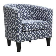 Accent Chairs With Arms by Barrel Arm Accent Chair
