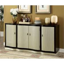 compare bowery hill 5 drawer 2 door buffet in truffle